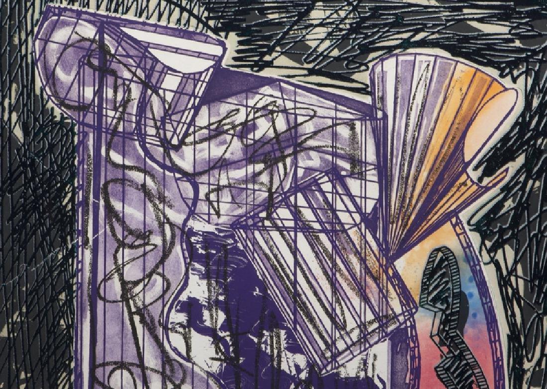 "Frank Stella ""Bene come il sale, State I"" etching - 4"