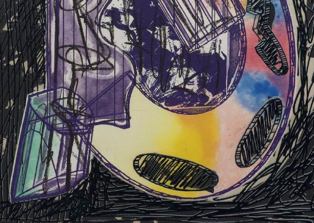 "Frank Stella ""Bene come il sale, State I"" etching - 5"