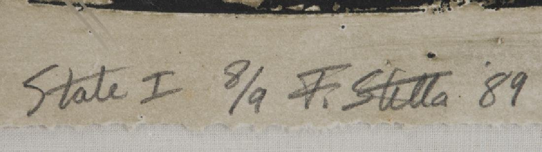 "Frank Stella ""Bene come il sale, State I"" etching - 6"