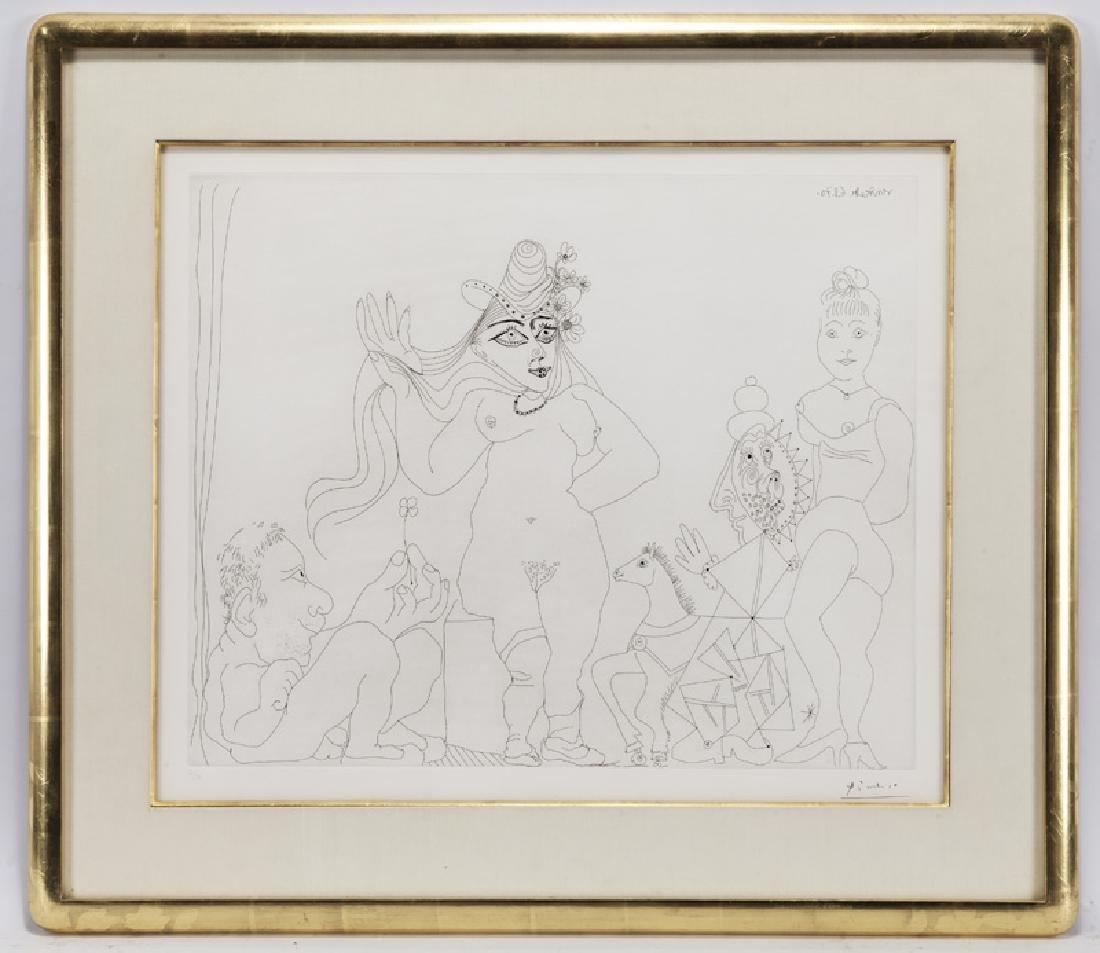"""Pablo Picasso """"Le trefle a quatre feuilles - 2"""