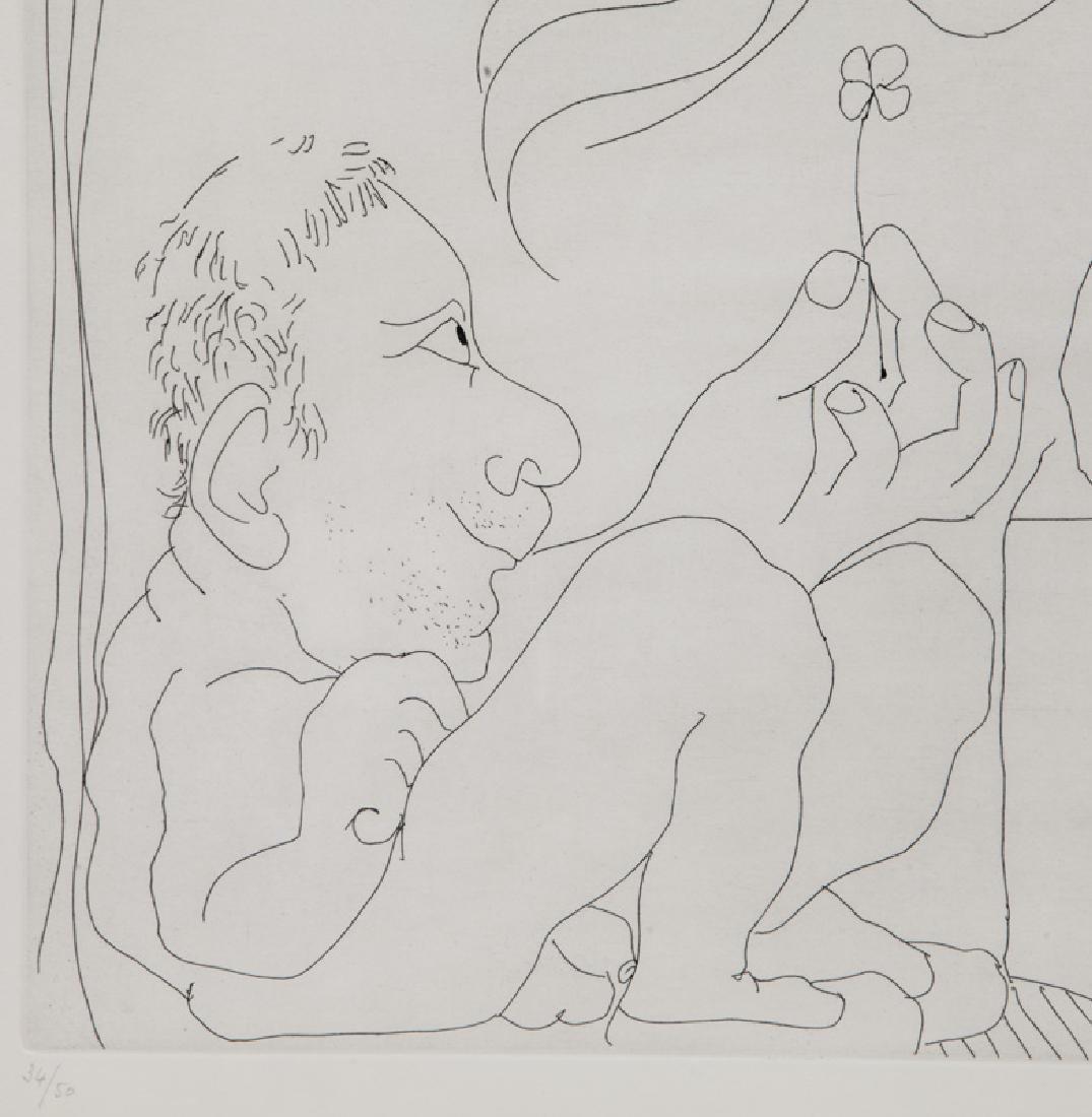 """Pablo Picasso """"Le trefle a quatre feuilles - 3"""