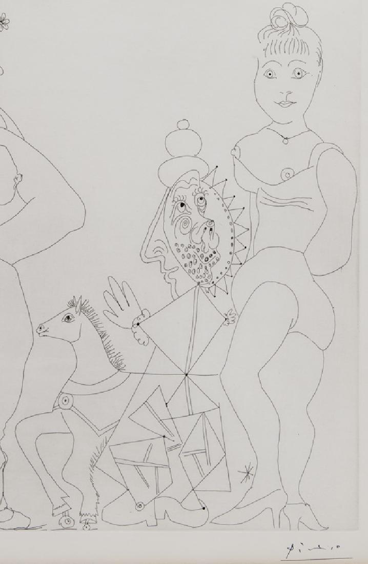 """Pablo Picasso """"Le trefle a quatre feuilles - 5"""