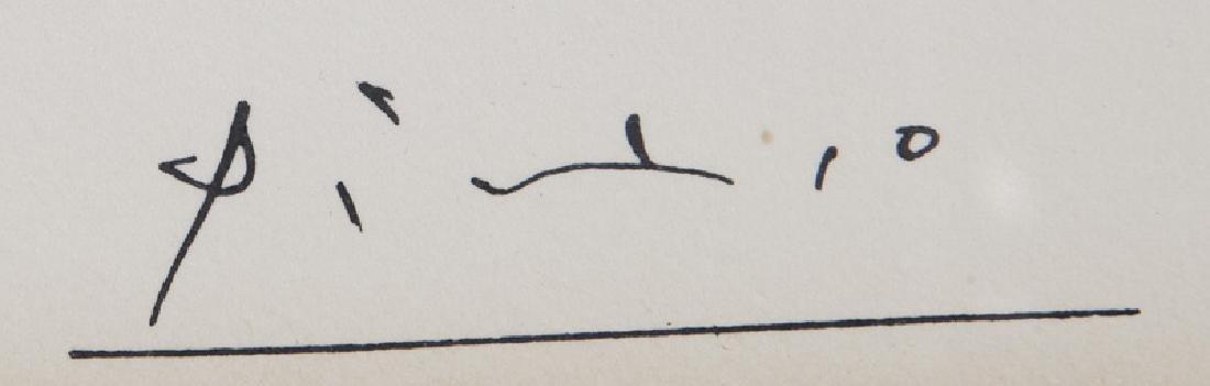 """Pablo Picasso """"Le trefle a quatre feuilles - 6"""