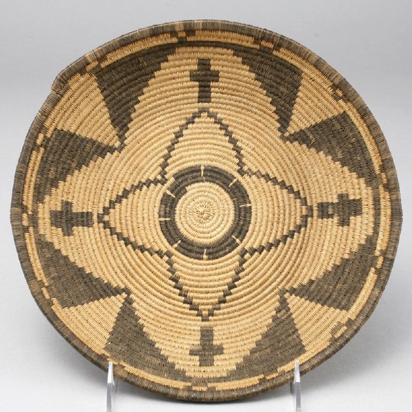 24: A Native American Western Apache coiled basket