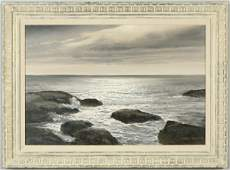 147: Robert William Wood oil painting on canvas titled,
