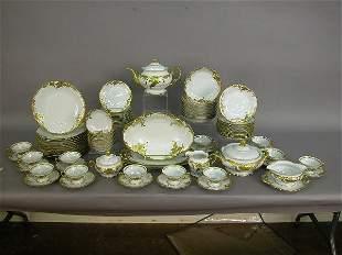 91pcs. Wawel Polish porcelain china - white