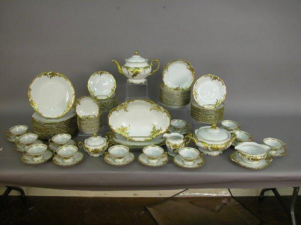 18: 91pcs. Wawel Polish porcelain china - white
