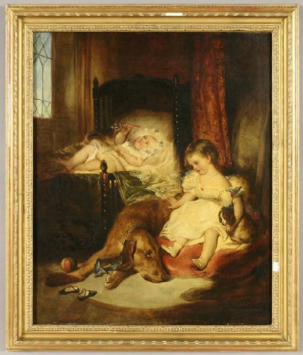23: After Sir Edwin Henry Landseer oil painting on
