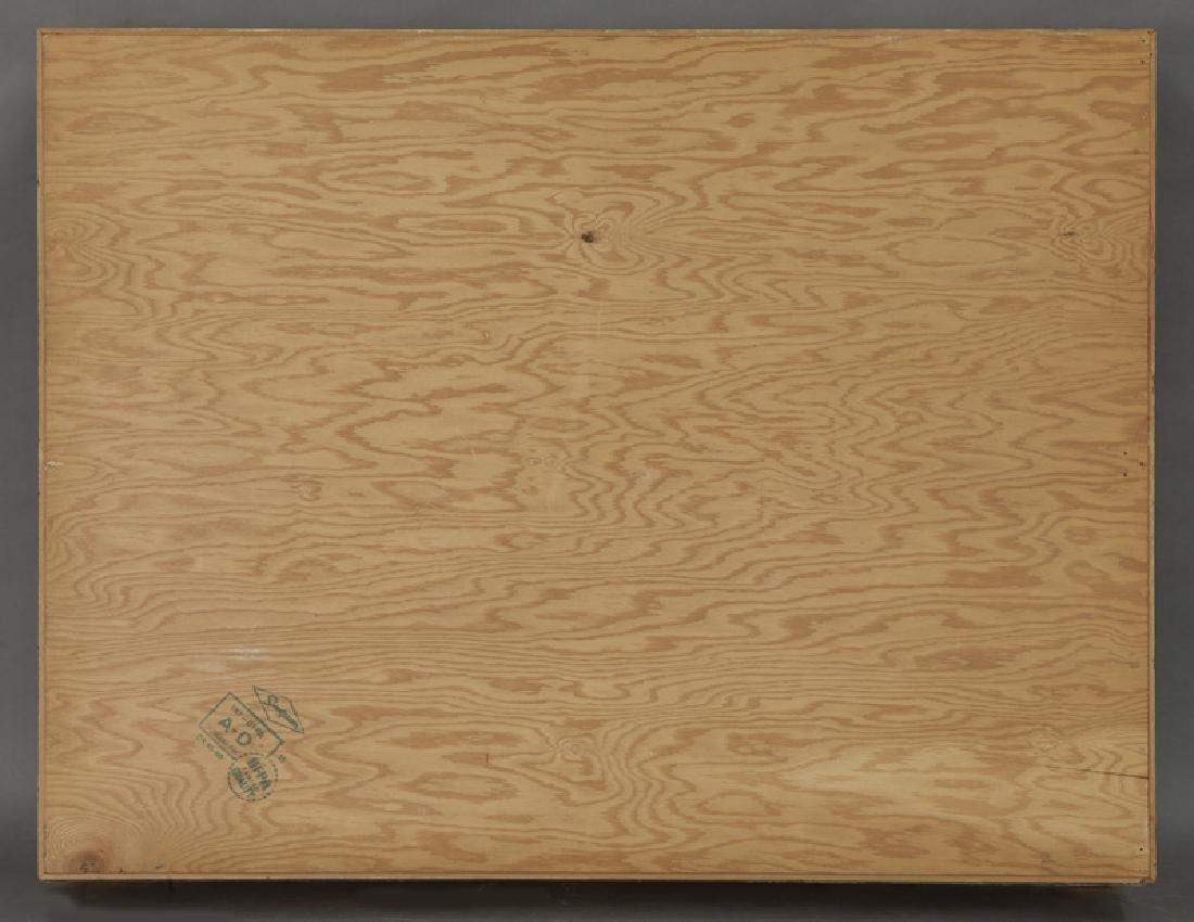 Belle Epoque giltwood shadowbox frame, - 5