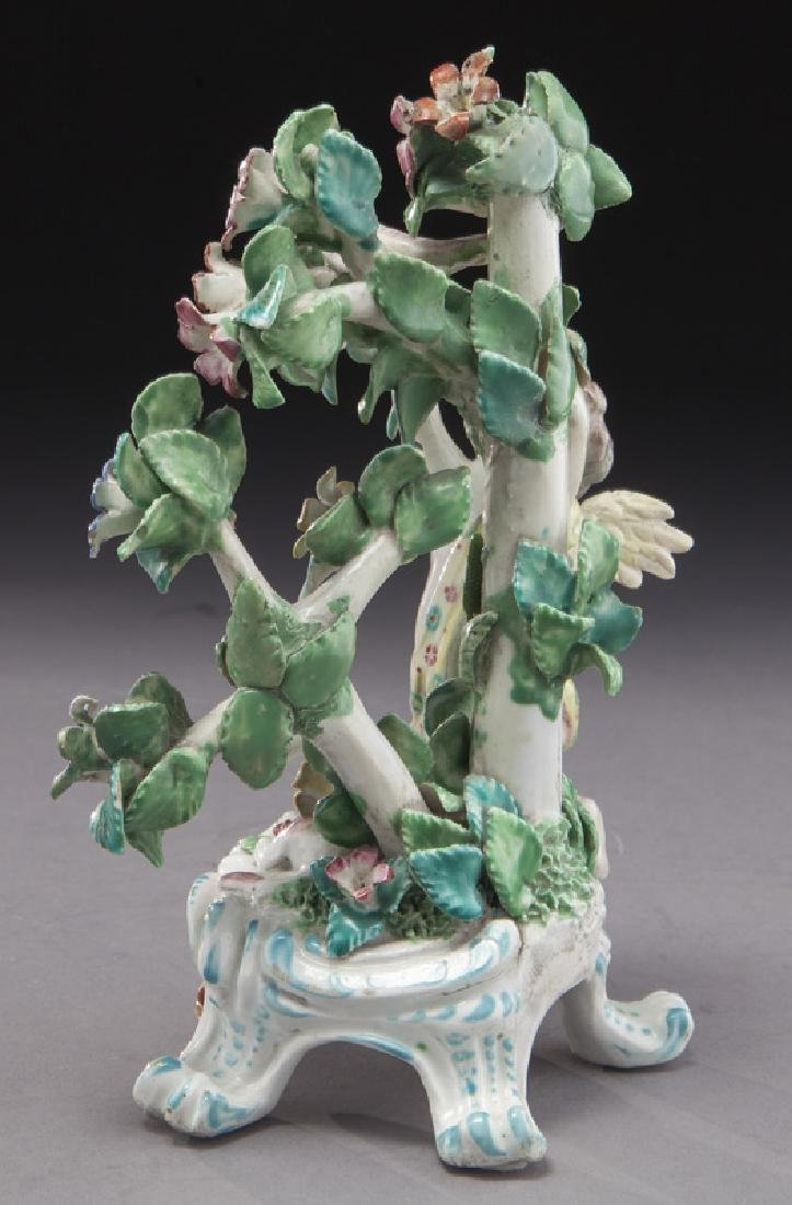 18th C. English Bow porcelain figural group - 5