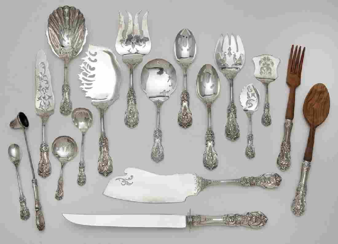 (18) Reed & Barton Francis I sterling silver