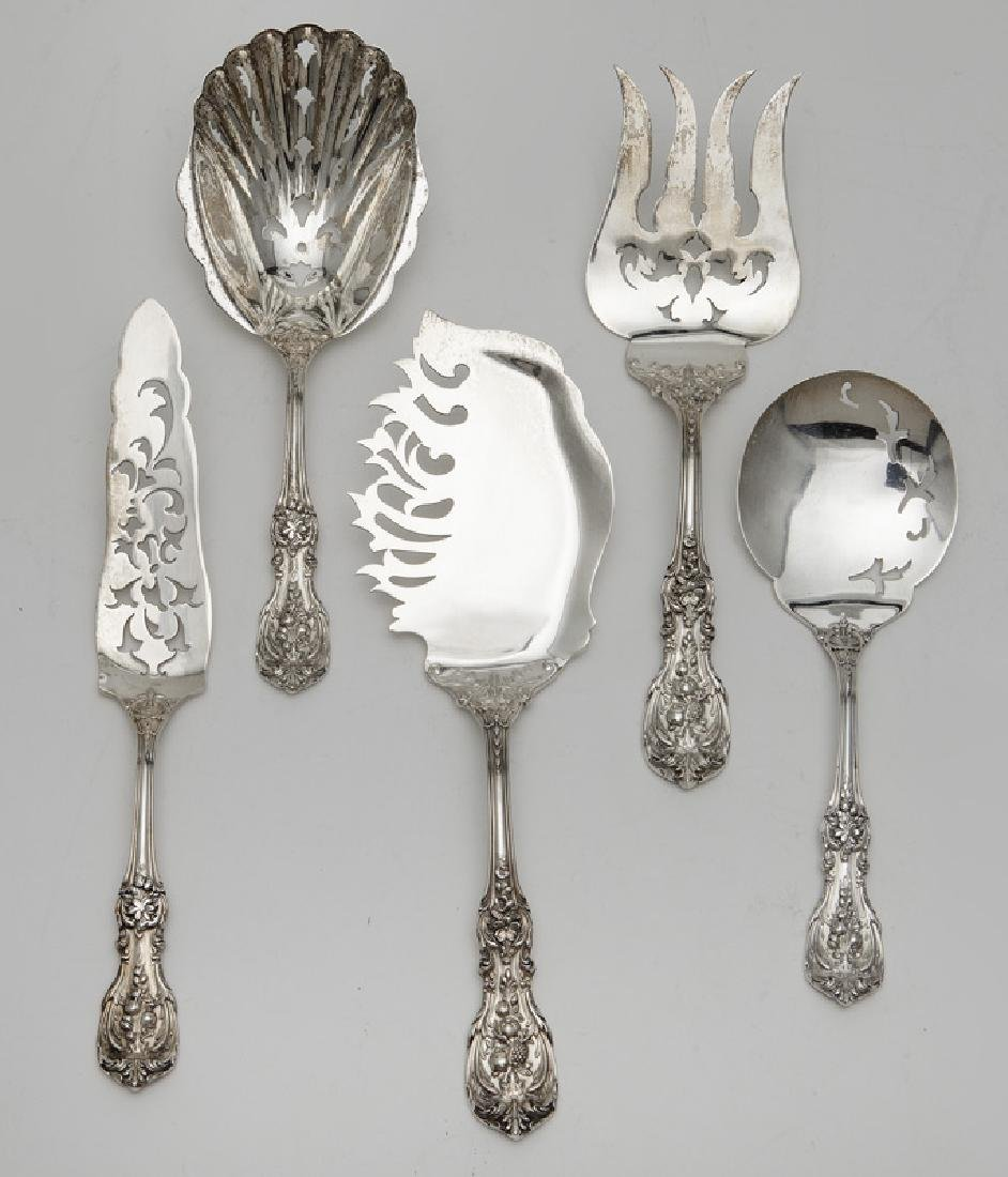 (18) Reed & Barton Francis I sterling silver - 2