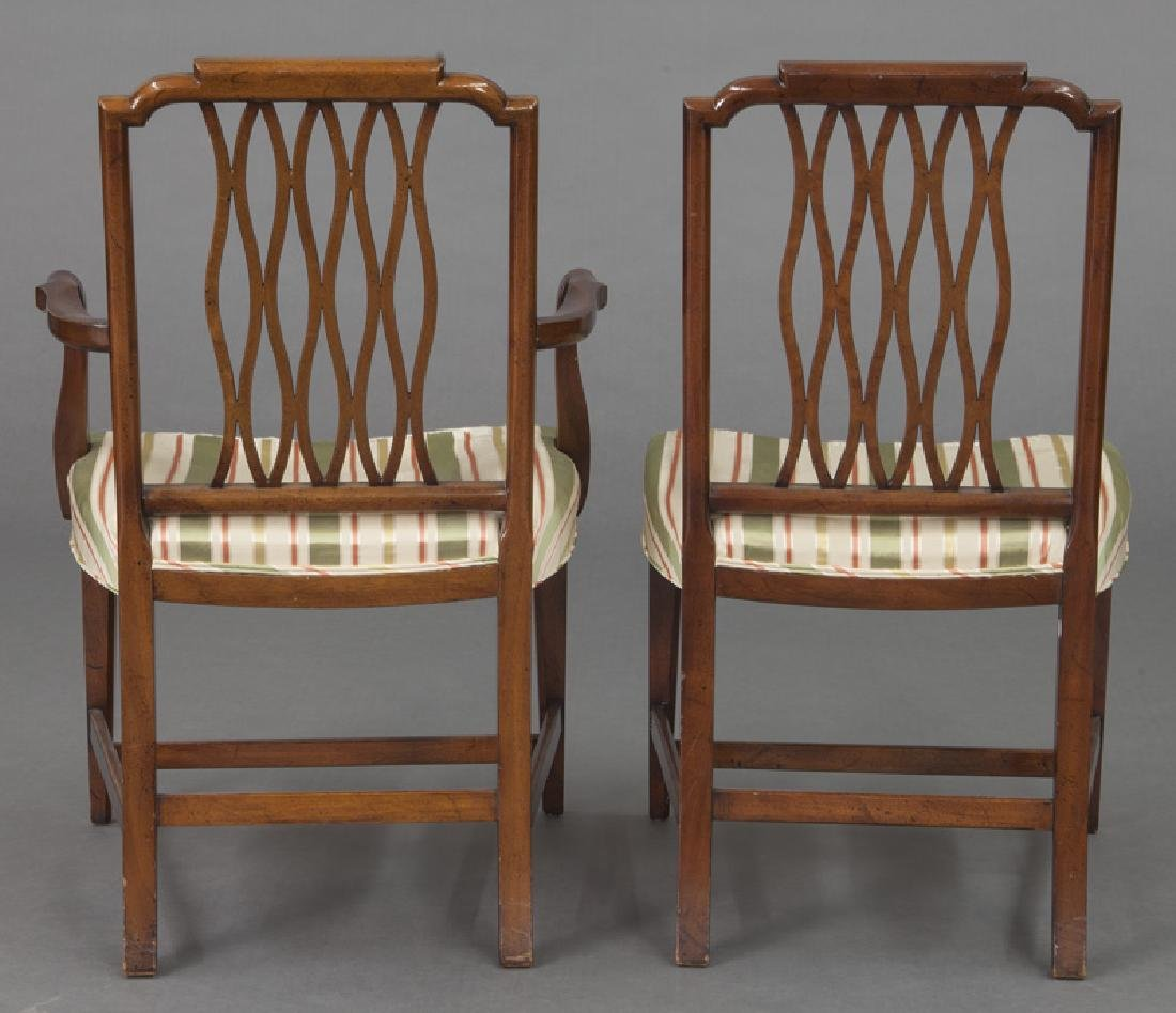 Set of (8) mahogany dining chairs (7 + 1) - 5