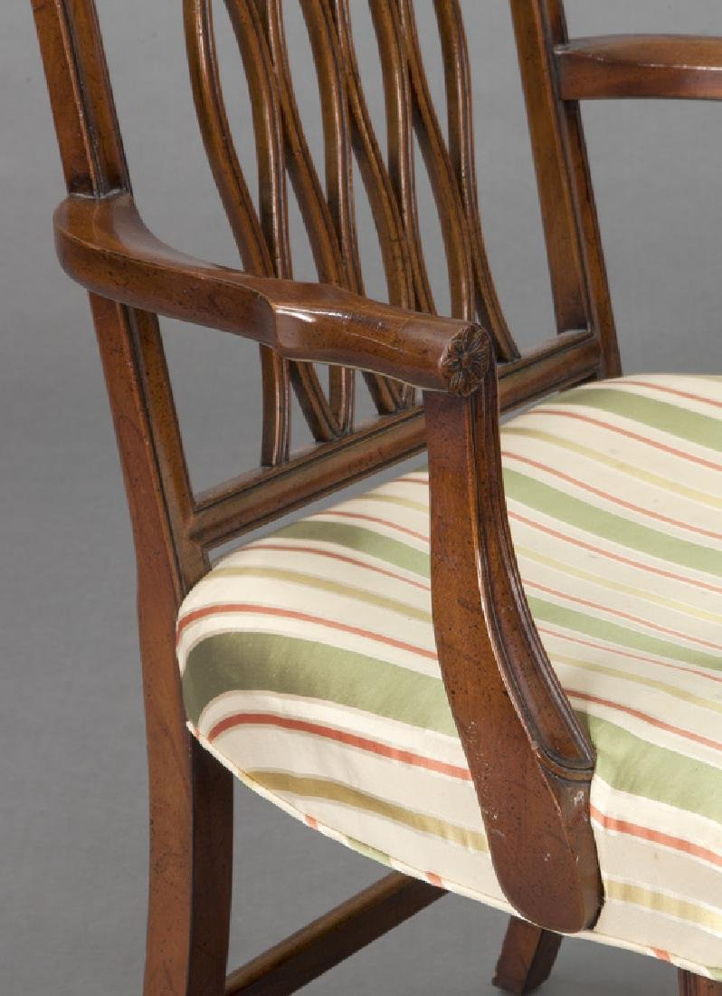 Set of (8) mahogany dining chairs (7 + 1) - 6