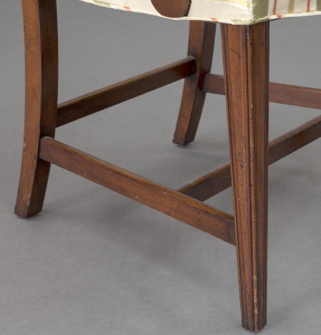 Set of (8) mahogany dining chairs (7 + 1) - 7