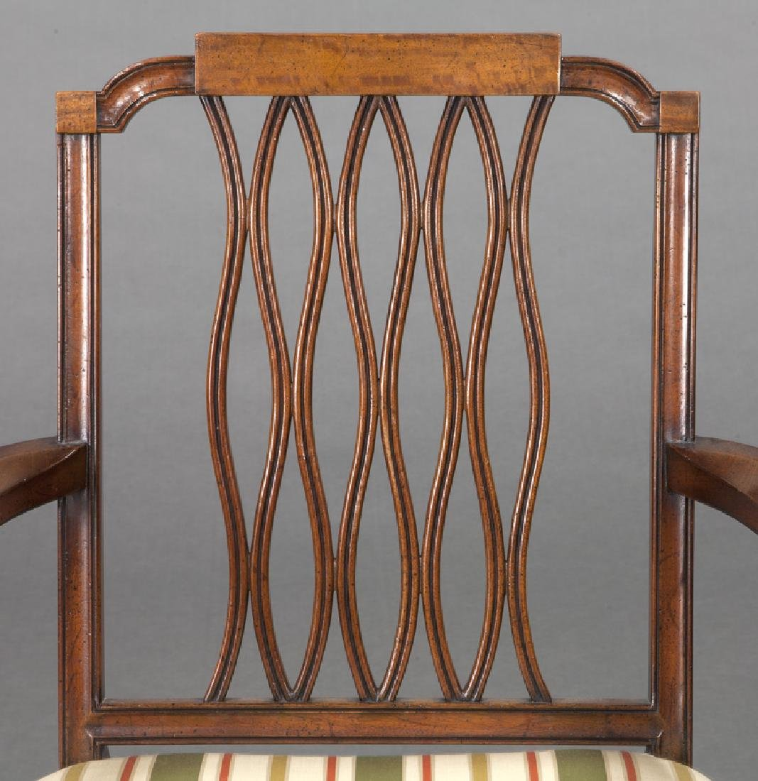 Set of (8) mahogany dining chairs (7 + 1) - 8
