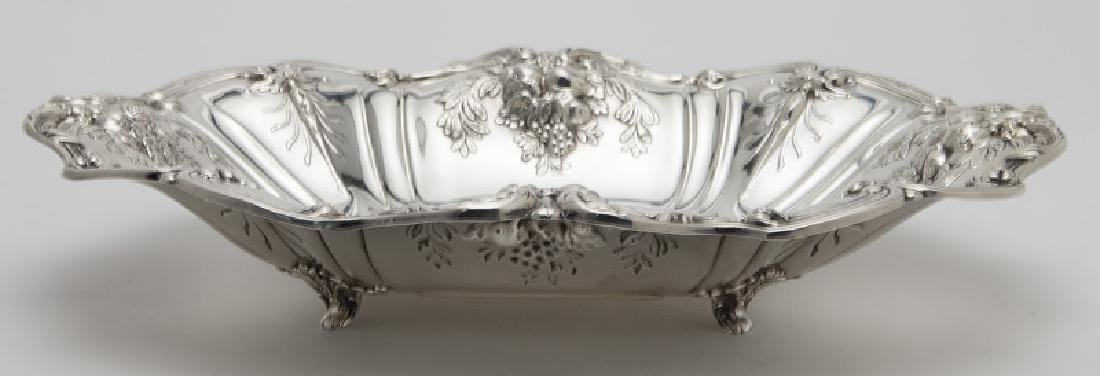 (2) Large Francis I sterling silver fruit bowls - 4