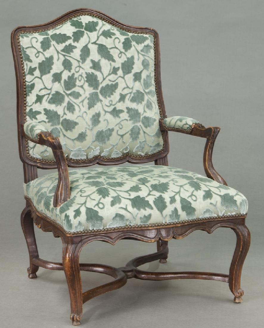 Pr. Regence style armchairs - 2
