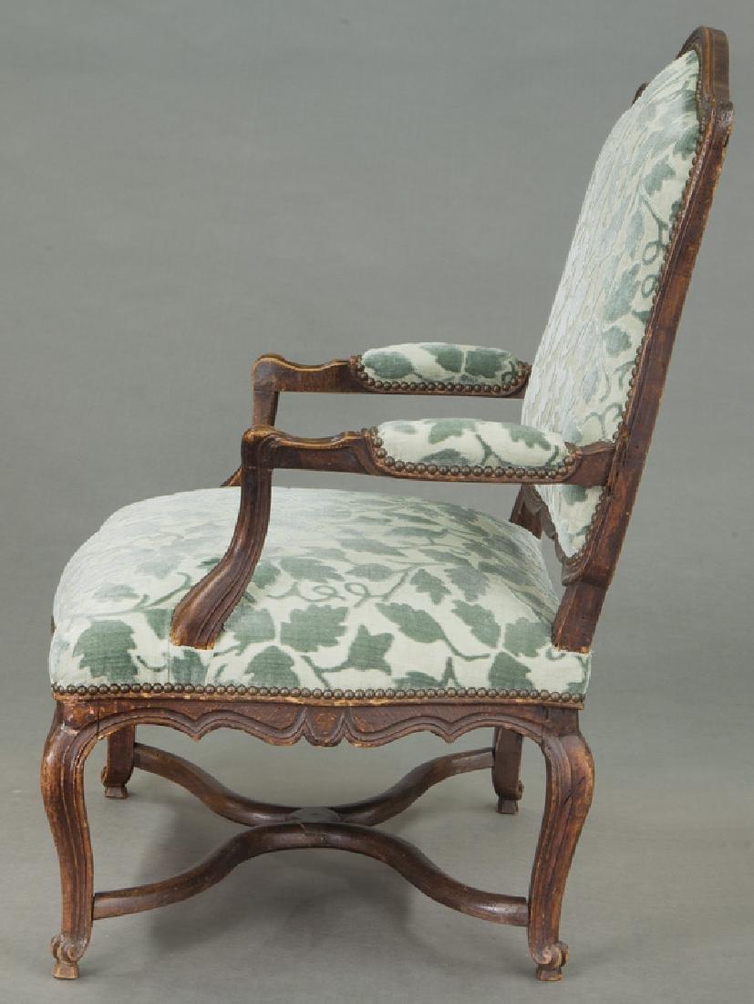 Pr. Regence style armchairs - 4