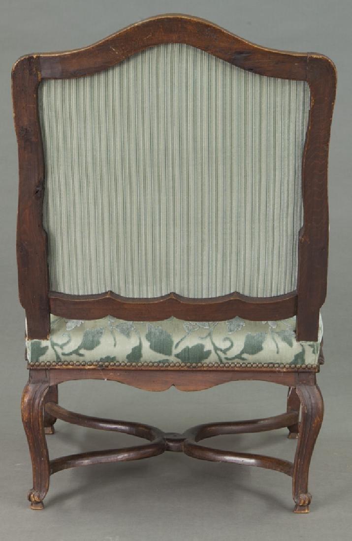 Pr. Regence style armchairs - 5