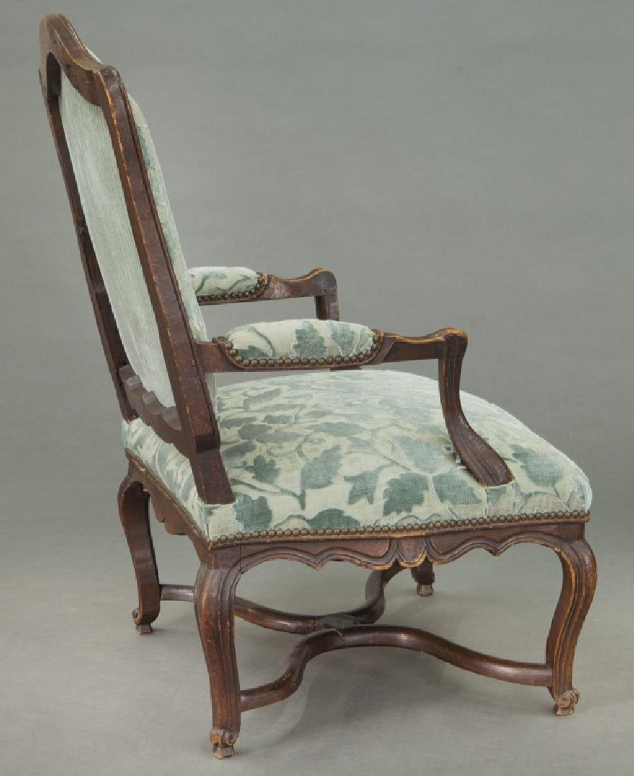 Pr. Regence style armchairs - 6