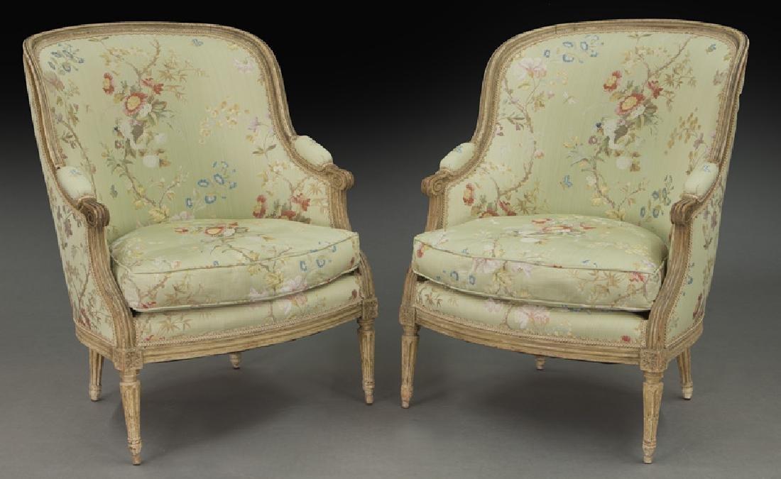 Pr. Louis XV style bergeres