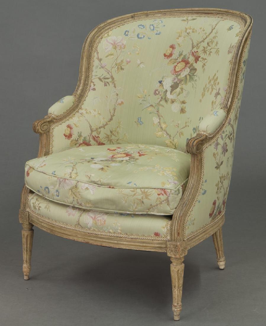 Pr. Louis XV style bergeres - 2