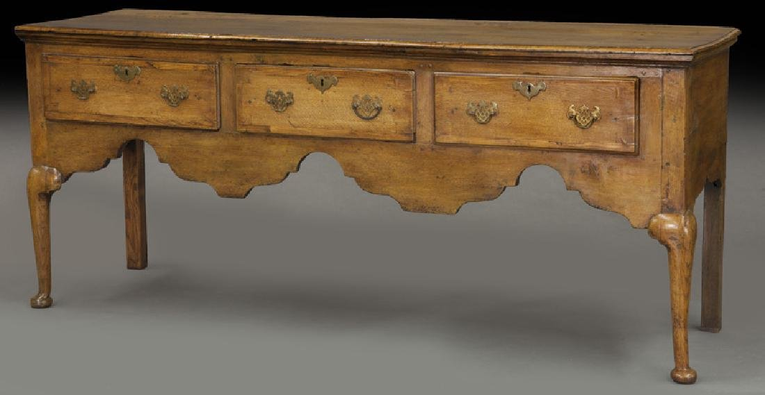 18th C. English Queen Anne style dresser base