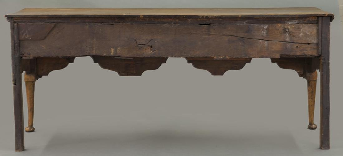 18th C. English Queen Anne style dresser base - 4
