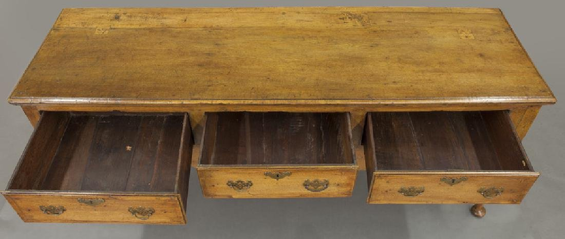 18th C. English Queen Anne style dresser base - 7