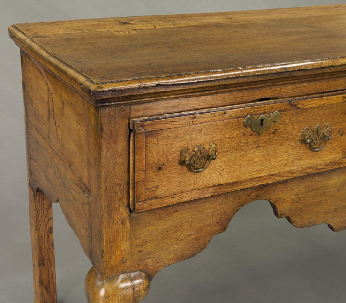 18th C. English Queen Anne style dresser base - 8