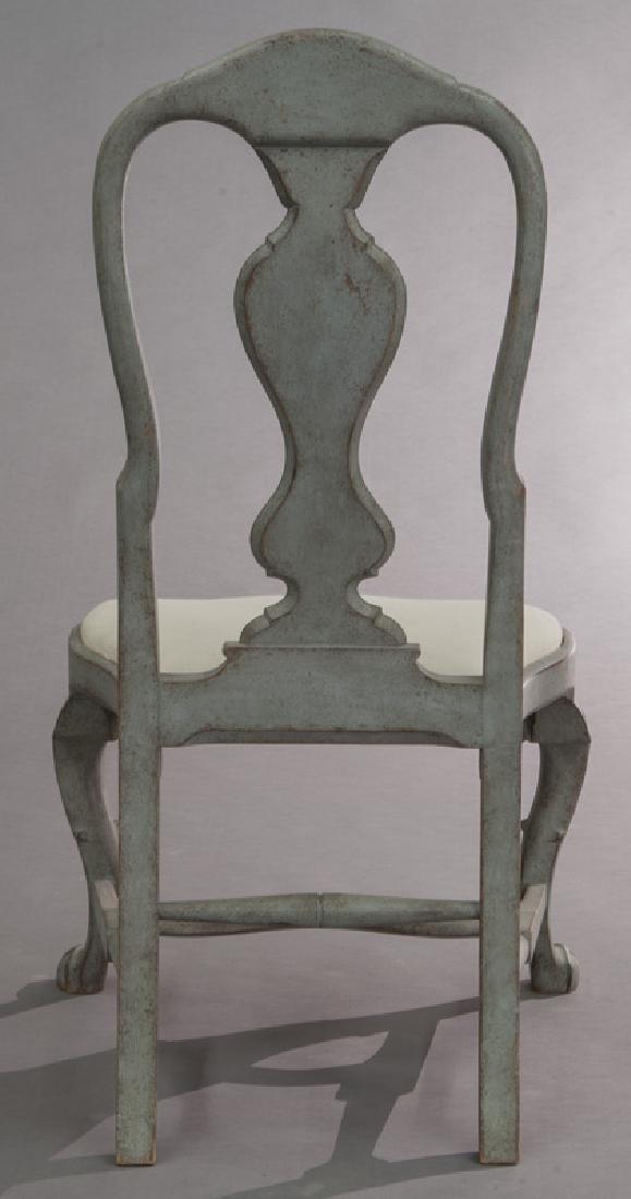 Set of (6) Swedish Gustavian style dining chairs - 5