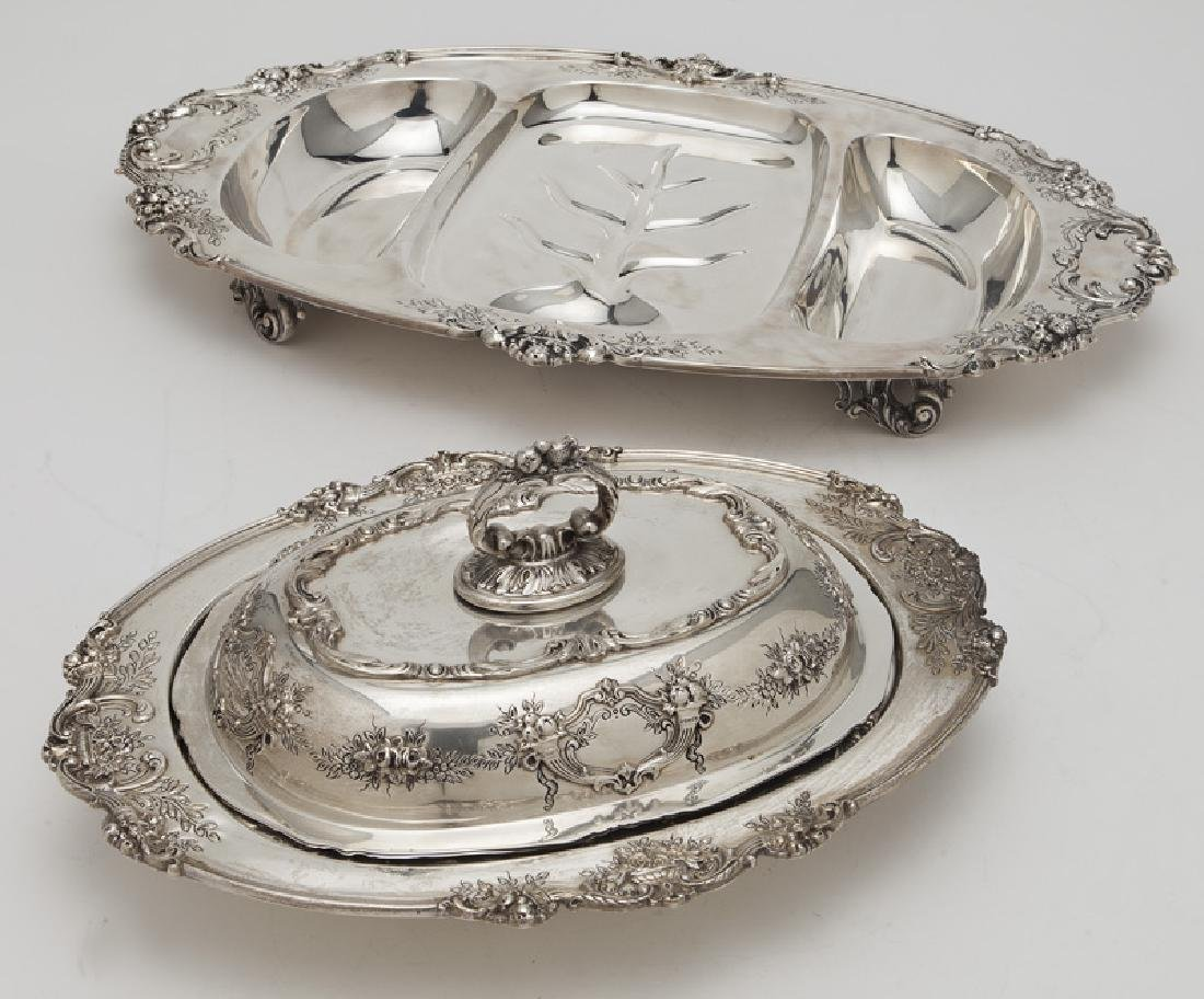 (2) Reed & Barton Francis I sterling silver