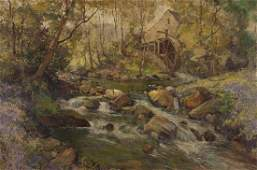 "Samuel John Lamorna Birch ""The Old Mill"" oil on"