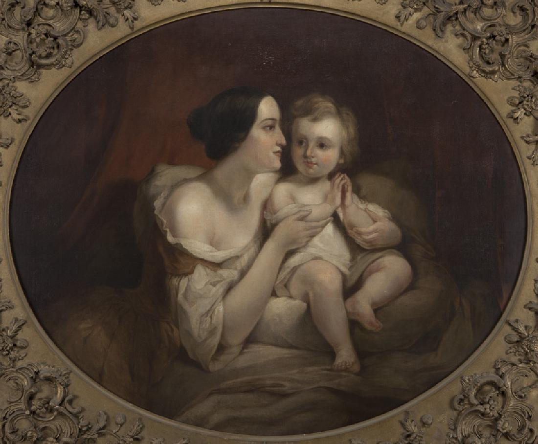 "Attributed to Thomas Sully ""Portrait of Mrs. - 2"