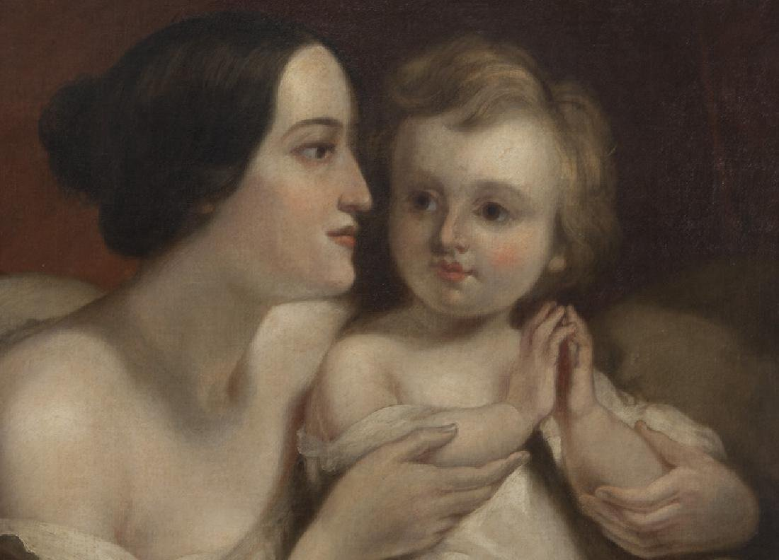 "Attributed to Thomas Sully ""Portrait of Mrs. - 4"