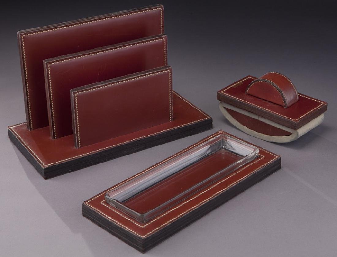 Paul Dupre-Lafon for Hermes desk set, - 4