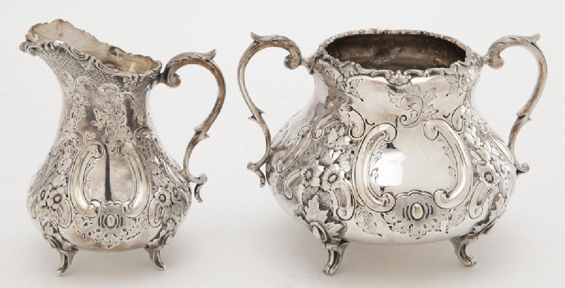 4 Pc. silverplate tea and coffee service, - 10
