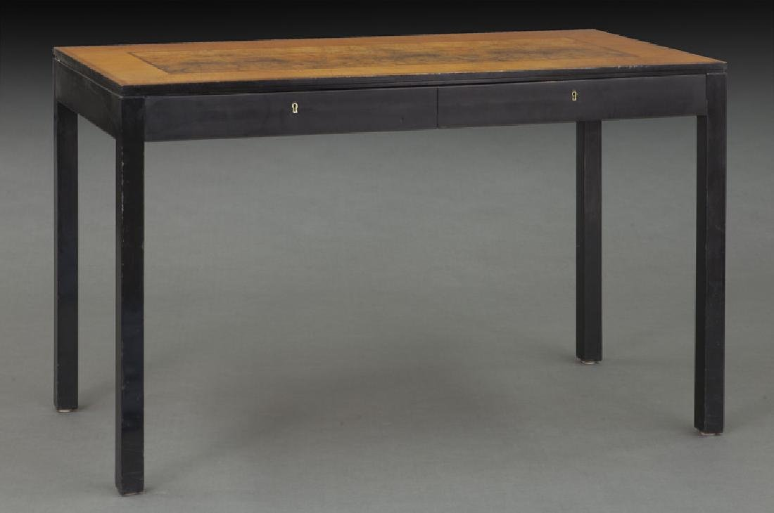 Swedish mid-century two drawer desk