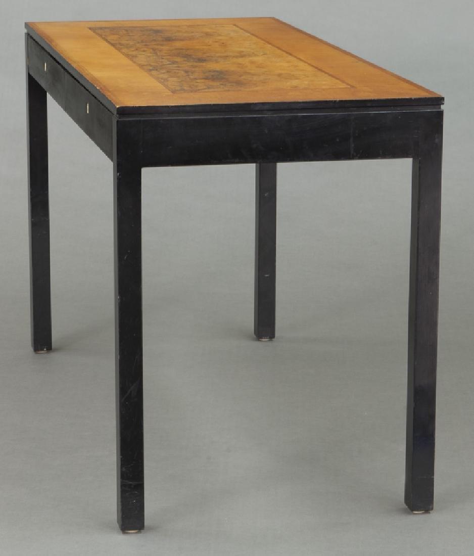 Swedish mid-century two drawer desk - 3