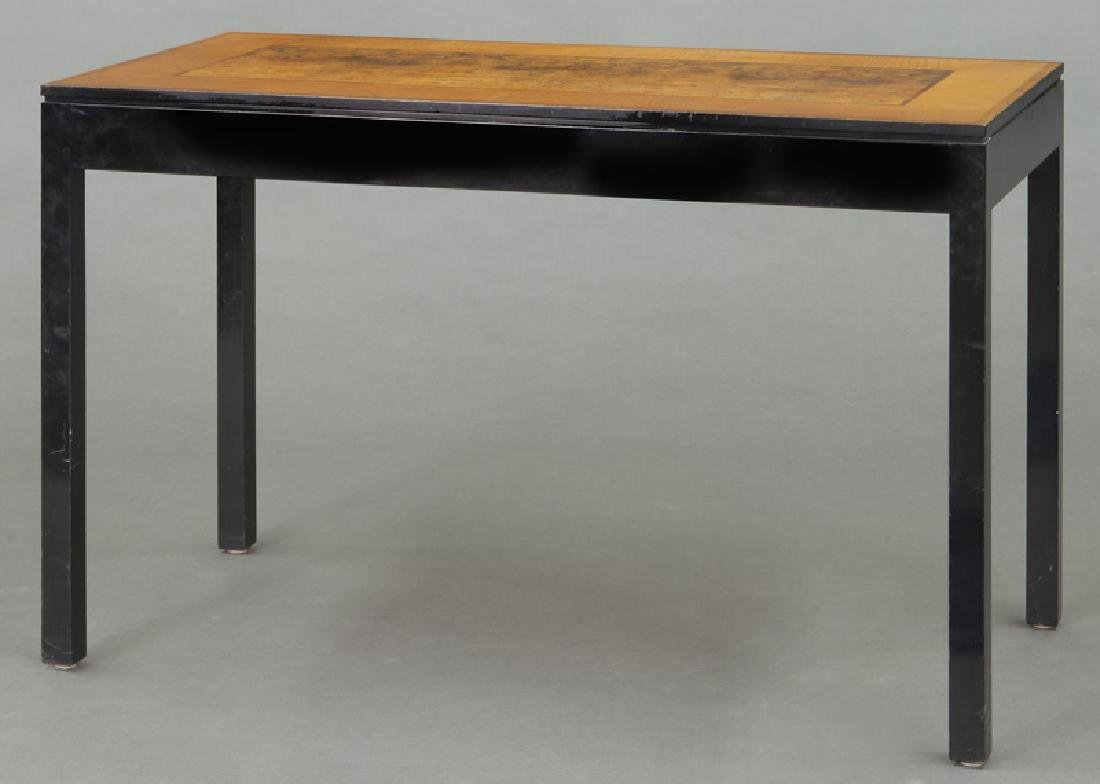 Swedish mid-century two drawer desk - 4