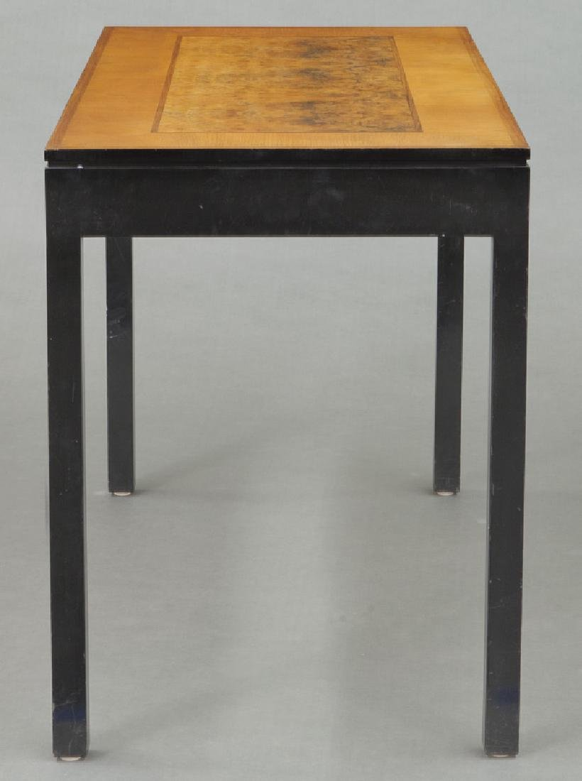 Swedish mid-century two drawer desk - 5