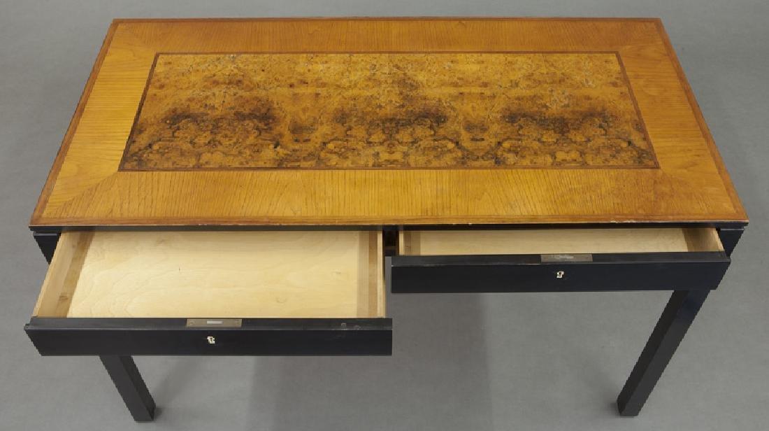 Swedish mid-century two drawer desk - 7