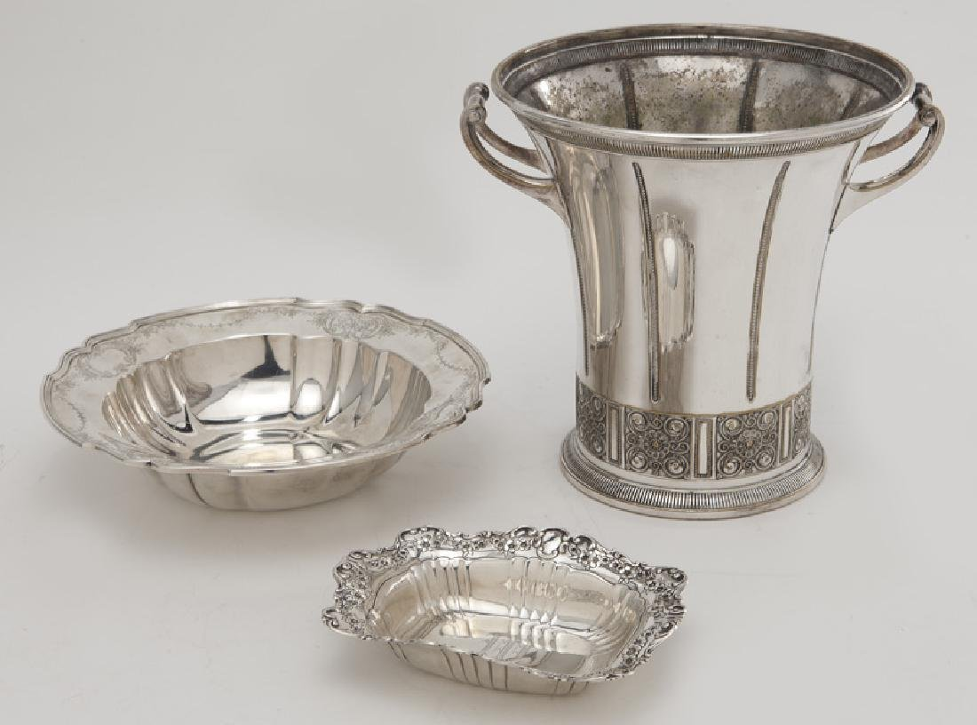 (8) Sterling silver & silver plate serving pieces - 2