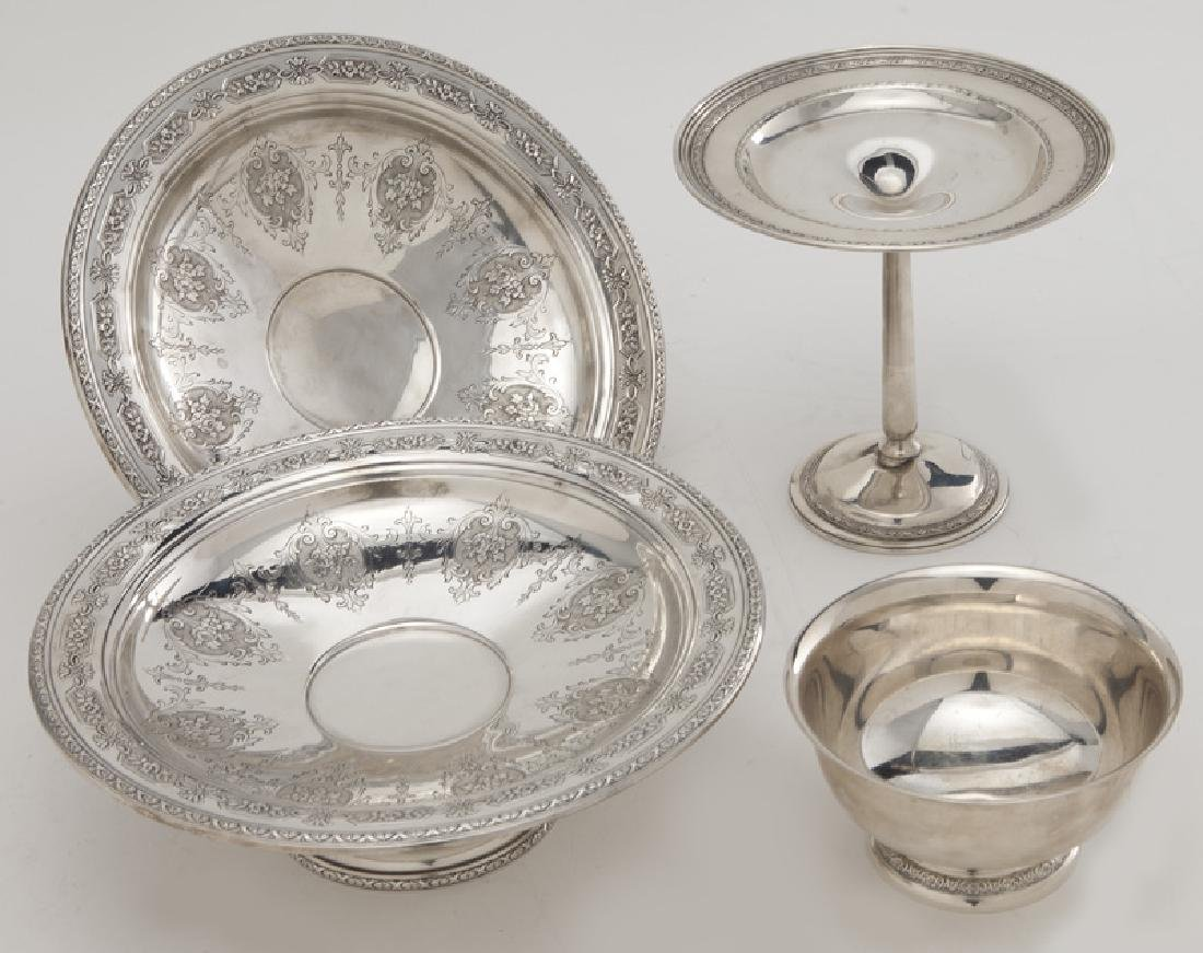 (8) Sterling silver & silver plate serving pieces - 8