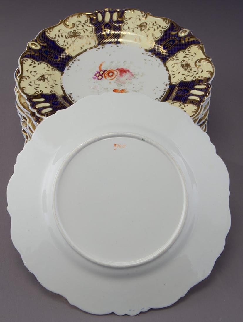 19 Pc. porcelain partial dinner service - 3