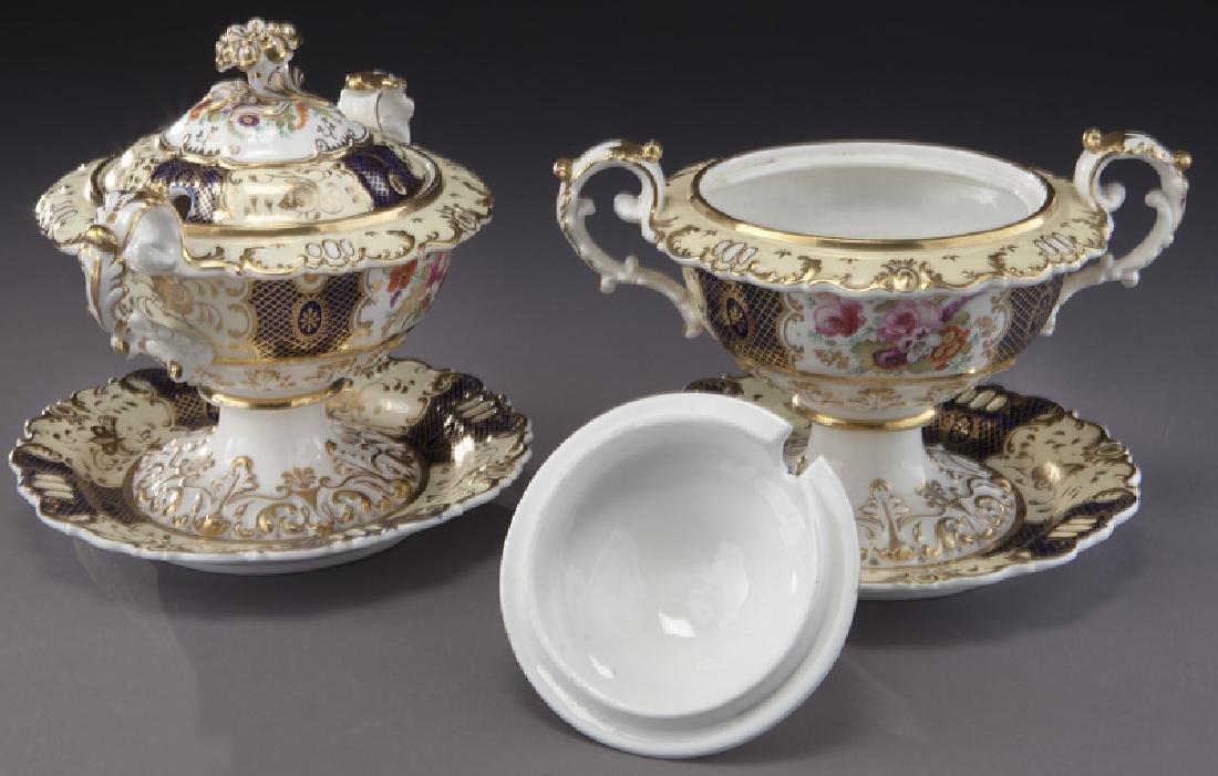 19 Pc. porcelain partial dinner service - 5