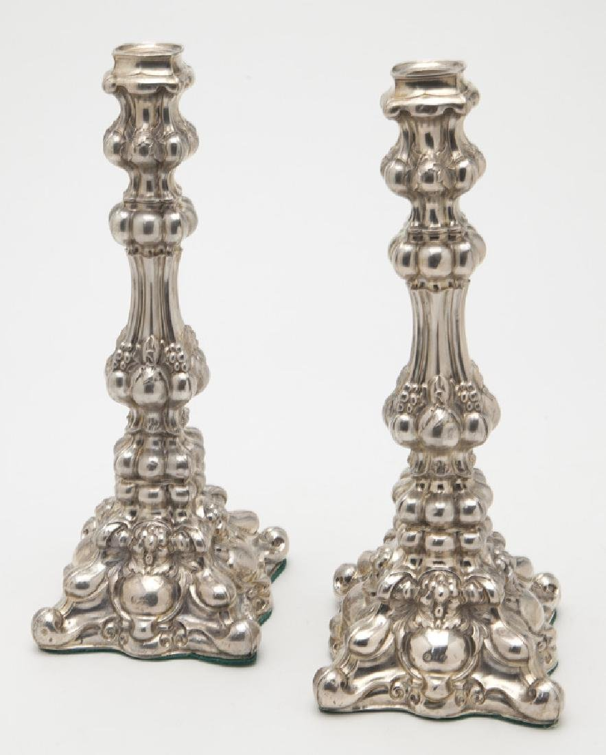 3 Pcs. of antique silver including: - 4
