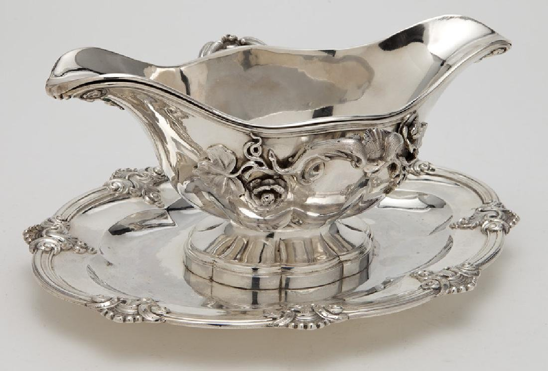 3 Pcs. of antique silver including: - 6