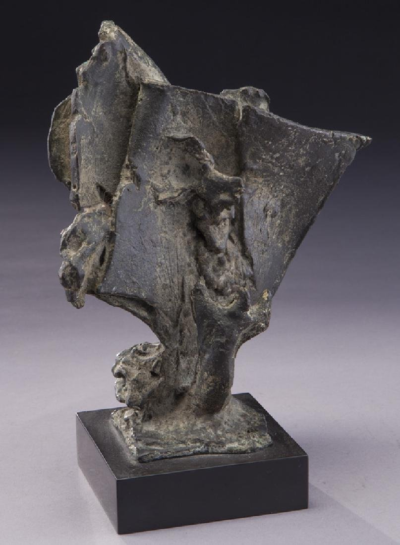 """Charles Umlauf """"Moses and the Universe (Study)"""""""